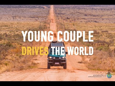 Average Couple Drives Around The World In Their 20's