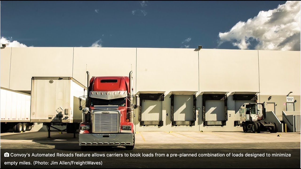 Convoy gives truckers a choice: Choose one load, or a pre-planned