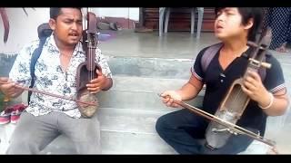 Suna Saili Pardesh Bata - Nepali Gaine Dai ( Sarangi Version)- jhapali gaine Dai