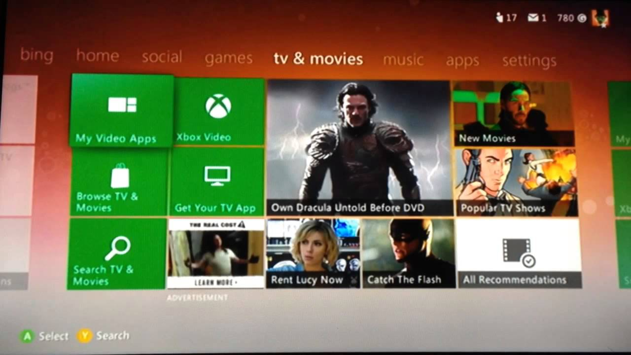 How to change your xbox to Normal/Widescreen for screen display