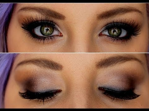 Sexy smokey eye tutorial