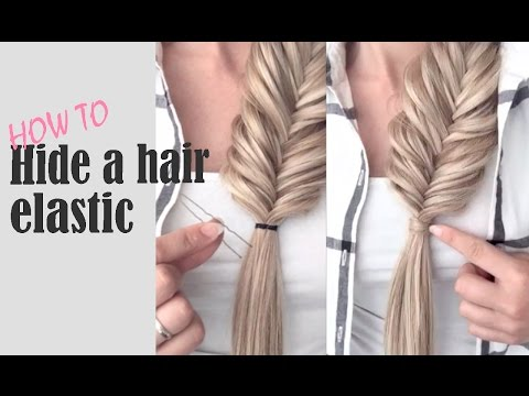 Hair Hack: How to Hide a Hair Elastic