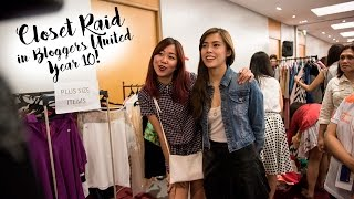 PURReview: Closet Raid in Bloggers United Year 10!
