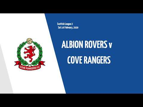 Albion Rovers Cove Rangers Goals And Highlights