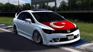 Lfs Honda CİVİC VTEC Fd6 Modu Link Açıklamada