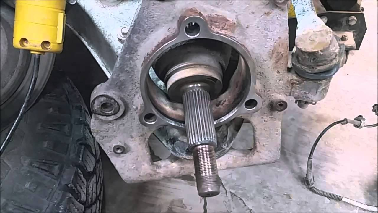 2003 Ford Ranger 4x4 Front Wheel Bearing Replacement Youtube