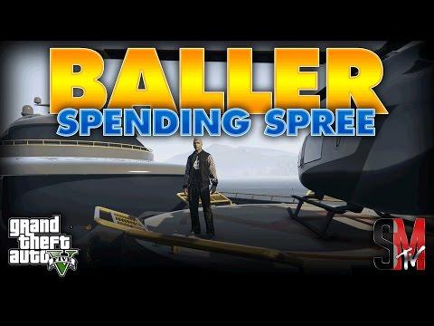 100 MILLION DOLLAR SPENDING SPREE  | GRAND THEFT AUTO 5 ONLINE