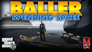 Video 100 MILLION DOLLAR SPENDING SPREE  | GRAND THEFT AUTO 5 ONLINE download MP3, 3GP, MP4, WEBM, AVI, FLV April 2018