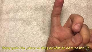 cách làm nails căn bản 44: cách cầm kèm giúp làm Manicure siêu nhanh