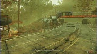 Fallout 76 camp build under a bridge