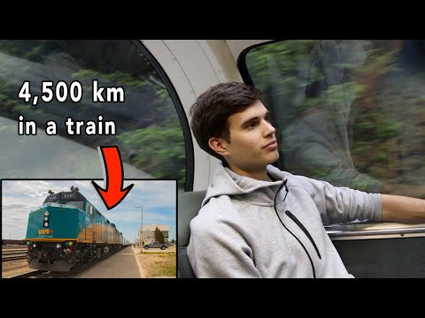 Crossing Canada By Train 🇨🇦 DAY 1: VIA RAIL Sleeper Class Tour