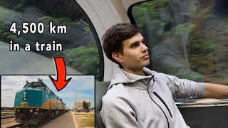 crossing canada by train with me (day 1)