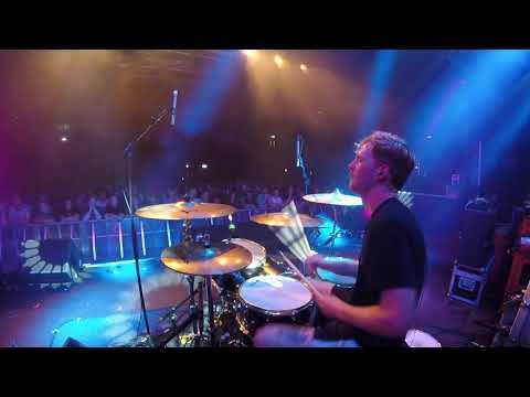 Luke Ellis (Muncie Girls) Live Drum Cam @ Nottingham, Rock City 2017