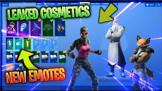 *NEW* ALL LEAKED FORTNITE Skins & Emotes! 10.10v
