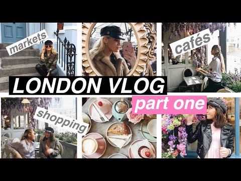 LONDON VLOG part 1: Portobello Market, Harrods, Shopping, Cirque Le Soir