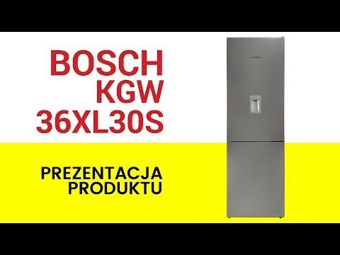 Lodówka Bosch Kgw 36xl30s Youtube