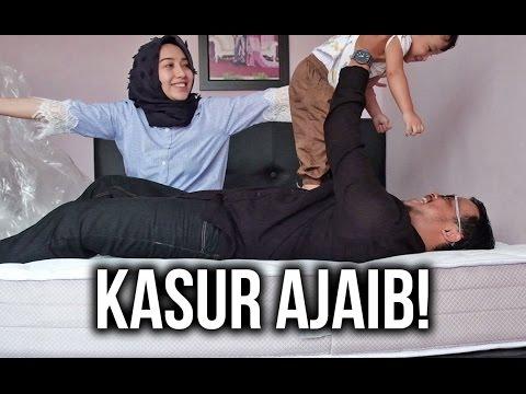UNBOXING KASUR BARU! (NGEMBANG SENDIRI) Absolute by Ameera