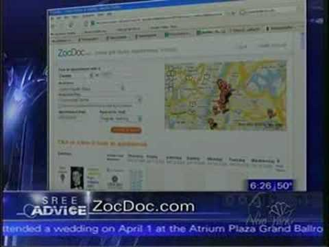 Find a Doctor - ZocDoc is featured on NBC's Sree Advice