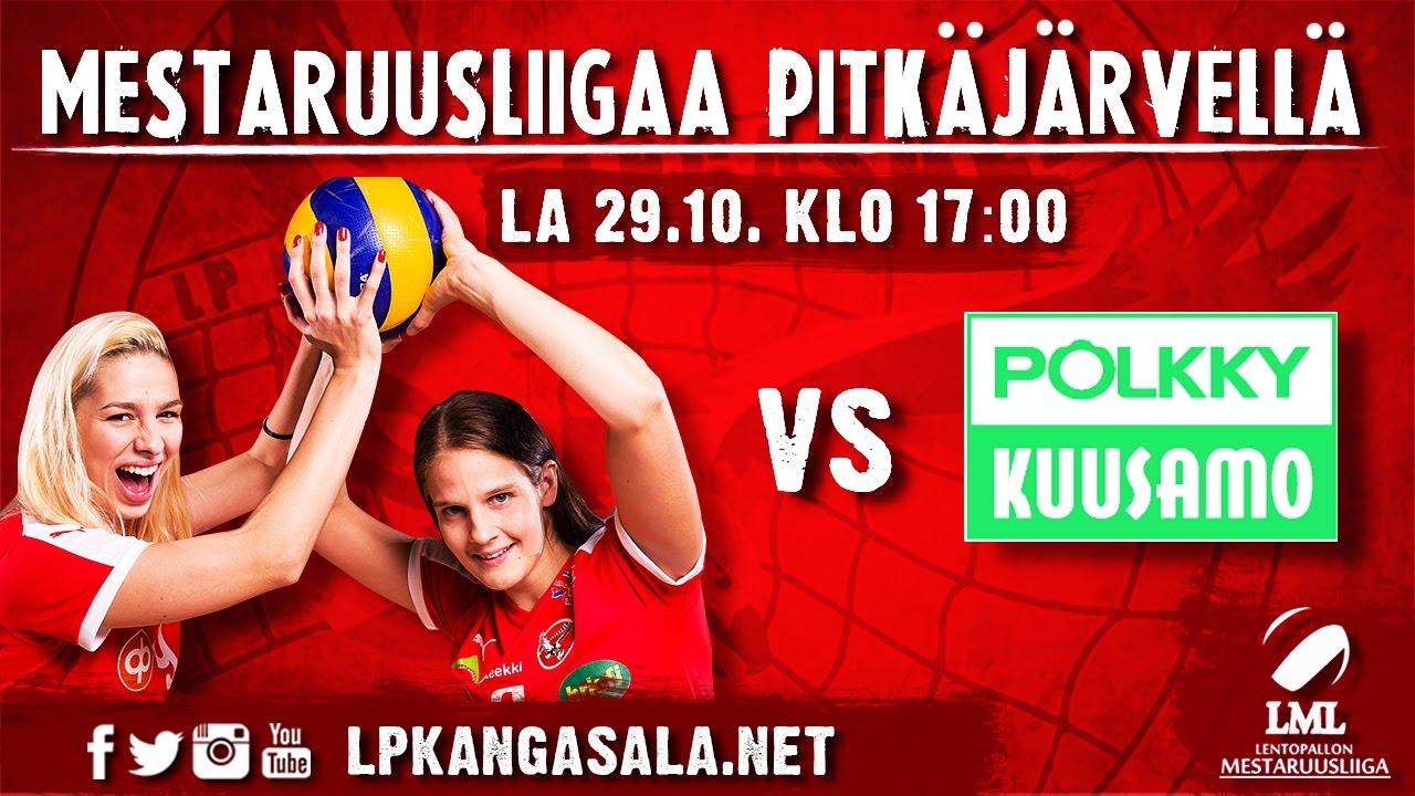 LIVE: LP Kangasala - Pölkky Kuusamo, 29.10.2016 - YouTube