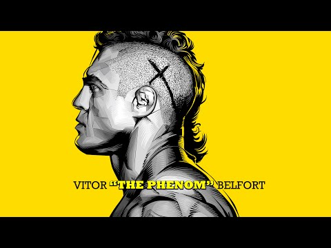 Vitor 'The Phenom' Belfort - Vector Illustration