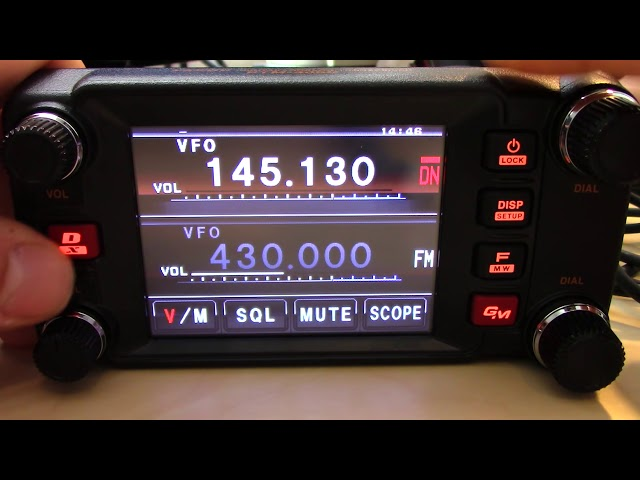 Yaesu FTM-400DR System Fusion C4FM Dual Band VHF/UHF Transceiver