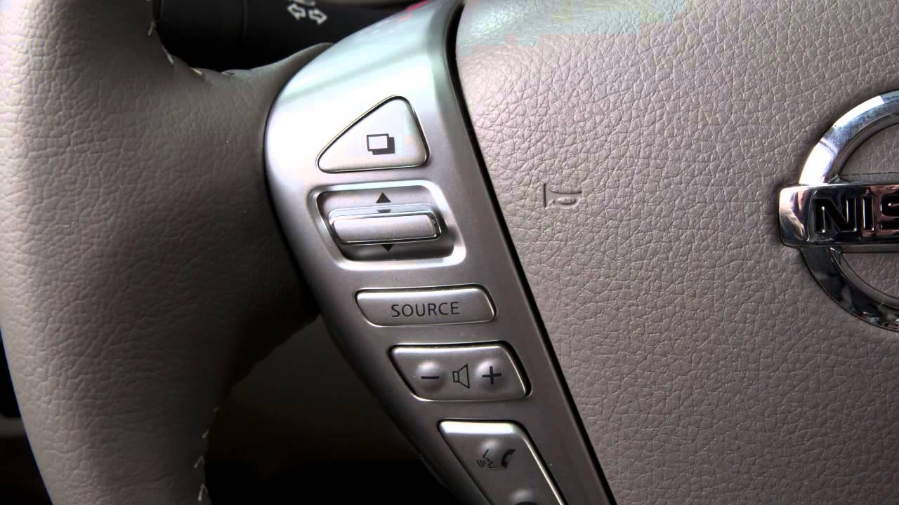 maxresdefault 2014 nissan sentra steering wheel audio controls youtube  at gsmx.co