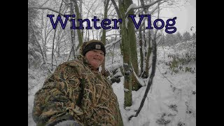 Winter Vlog! Minibike and 4 Wheeler Riding, Trail Cam Check, and Feeding The Birds