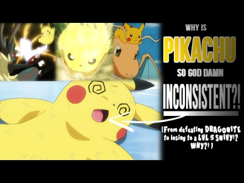☆WHY IS PIKACHU SO INCONSISTENT?! // Pokemon Anime Discussion/ Theory☆