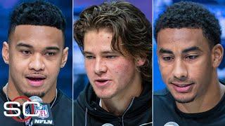 Comparing Tua Tagovailoa, Justin Herbert and Jordan Love ahead of the 2020 NFL Draft | SportsCenter