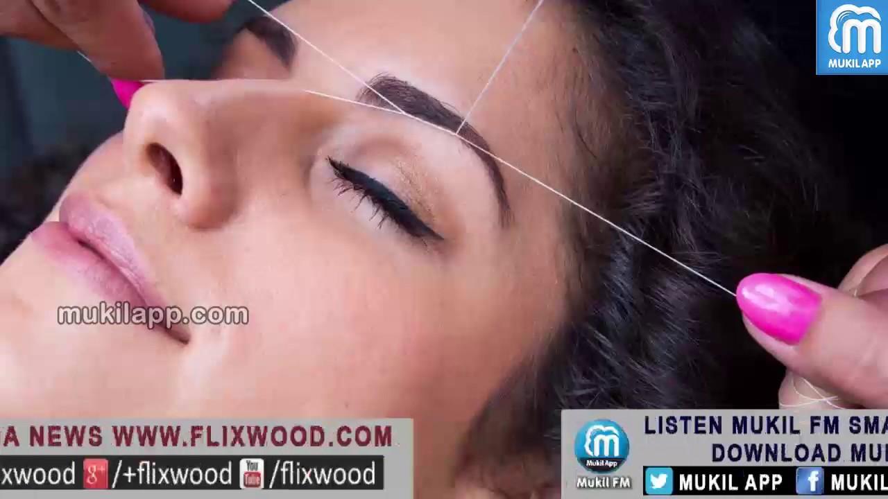 Side Effects Of Eye Brow Threading | புருவ வடிவமைப்பால் ஏற்படும் விளைவு   |  MukilApp