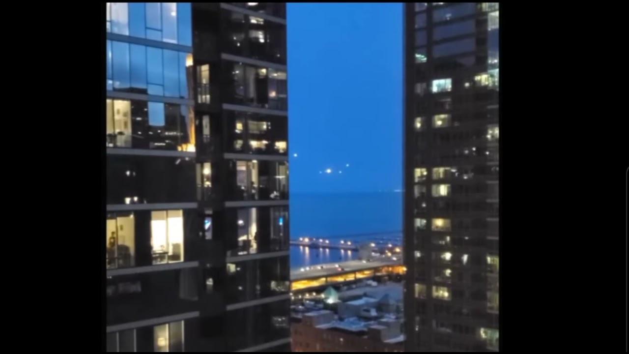 VIDEO : OVNI et orbes filmés à Chicago le 21 mars 2021 ?