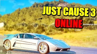 SUPERCOCHES Y SUPERCHOQUES - JUST CAUSE 3 ONLINE