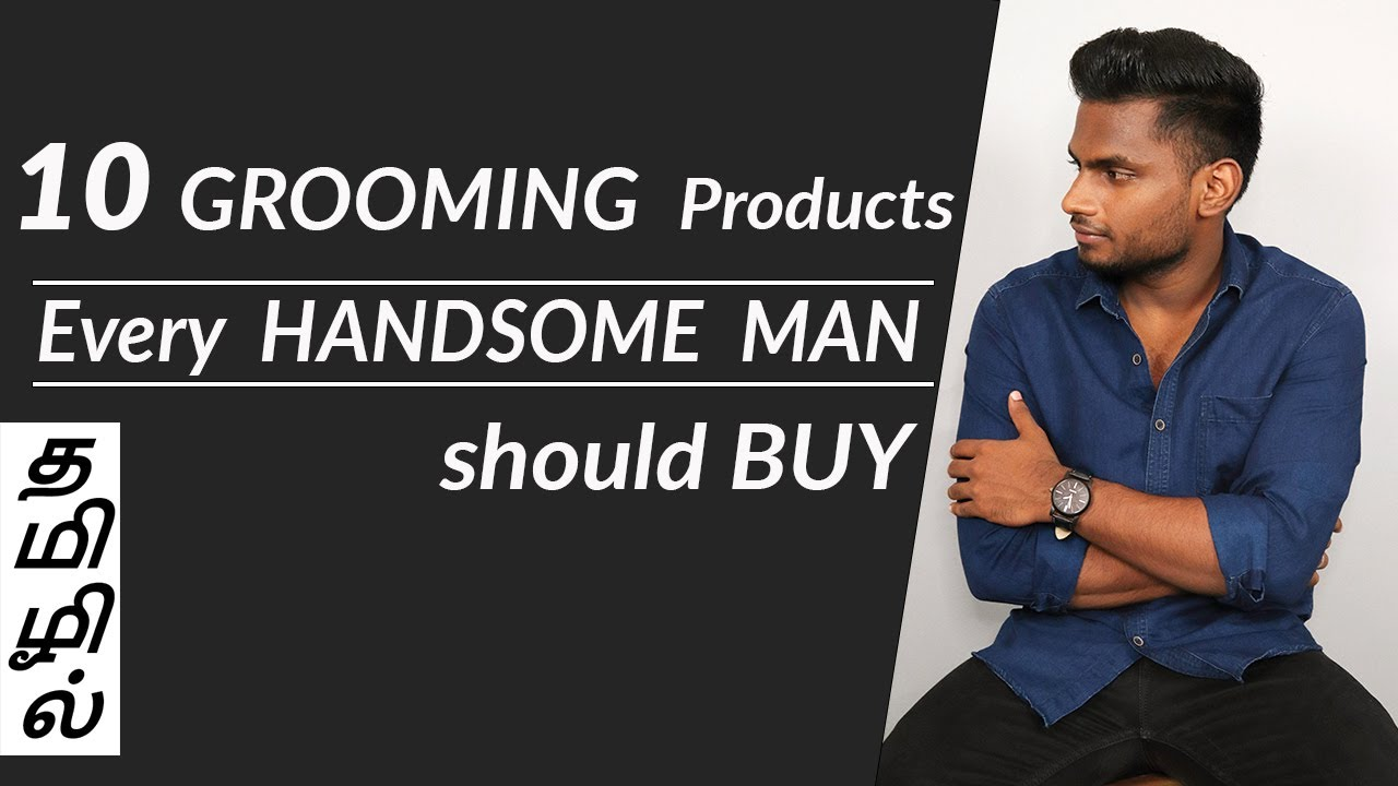 Download 10 Grooming tools that Make you HANDSOME    Men's Fashion Tamil