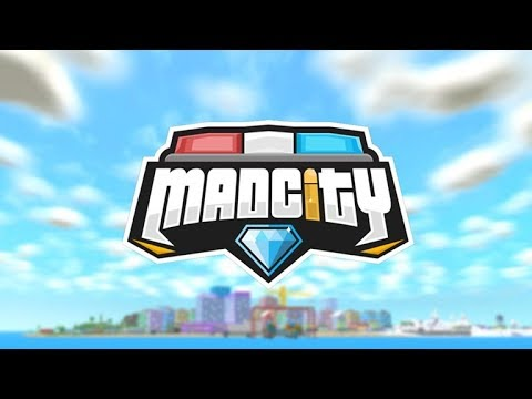 ROBLOX Mad City live stream - vip server with admin commands