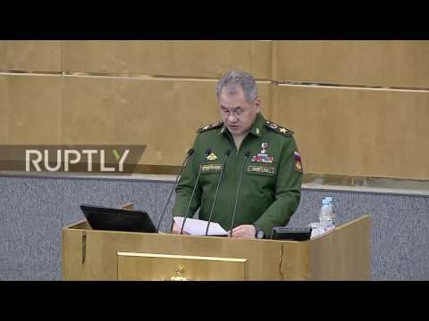 Russia: Attemps to change Syrian authorities from abroad 'have almost stopped' - Shoigu
