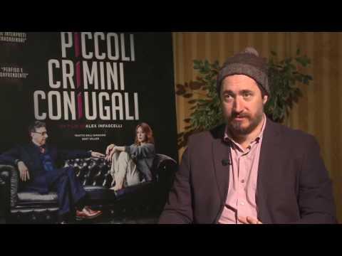 Alex Infascelli: 'Piccoli Crimini Coniugali'. Intervista