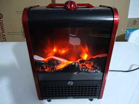 Caloventor el ctrico efecto fuego led 1500w dise o for Decoracion led hogar