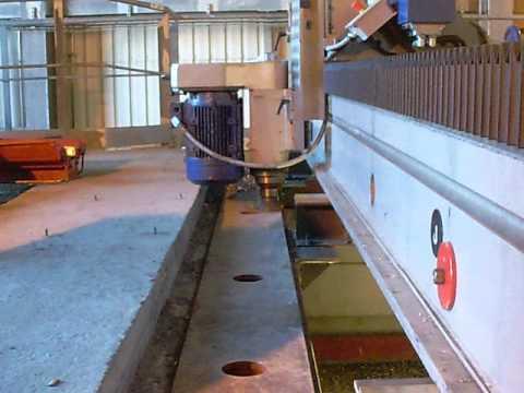On site machining, portable milling machine FL6000