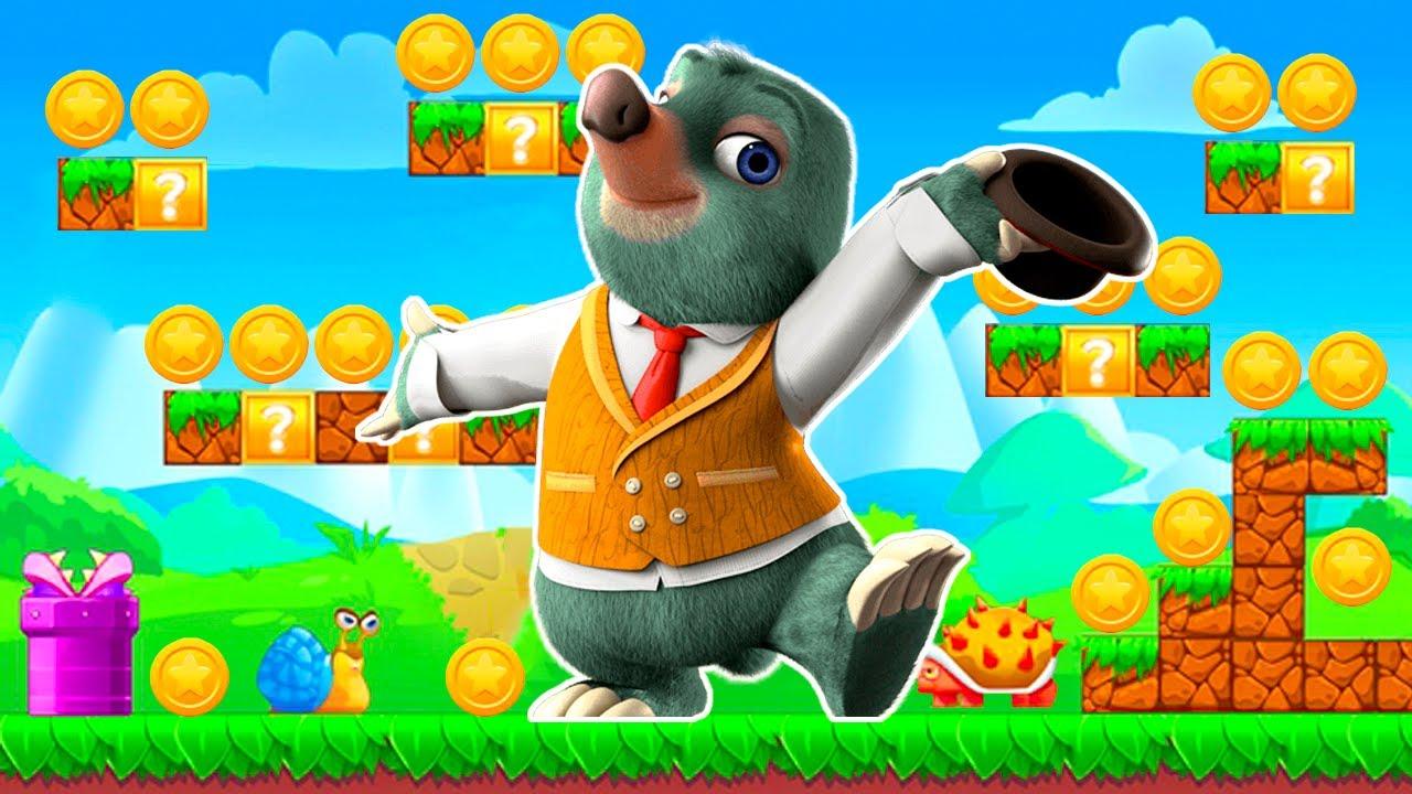 Master Moley Tunel Dash - Aventuras en el Hielo - Juegos para Niños Pequeños