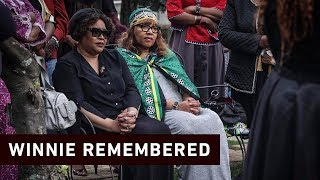 A year after Winnie Madikizela-Mandela died. Here is what family, friends and people she often interacted with remembered about her during an intimate private ceremony in Fourways.