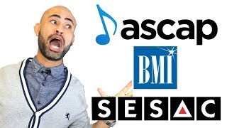 which is better? 🏆ascap vs bmi vs sesac 2018🏆