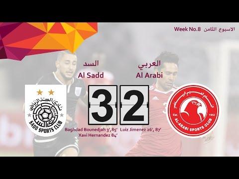 Al Sadd 3-2 Al Arabi (week 8)