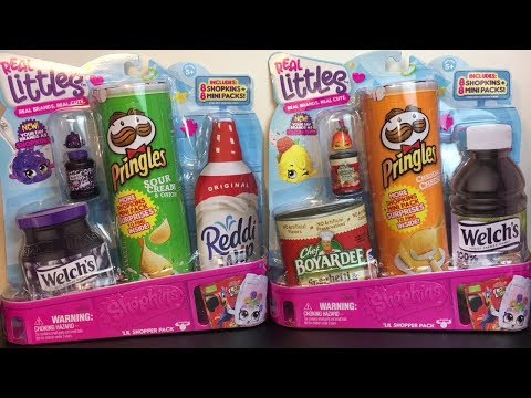 Opening more Shopkins Real Littles 16 Packs Will I complete the collection?