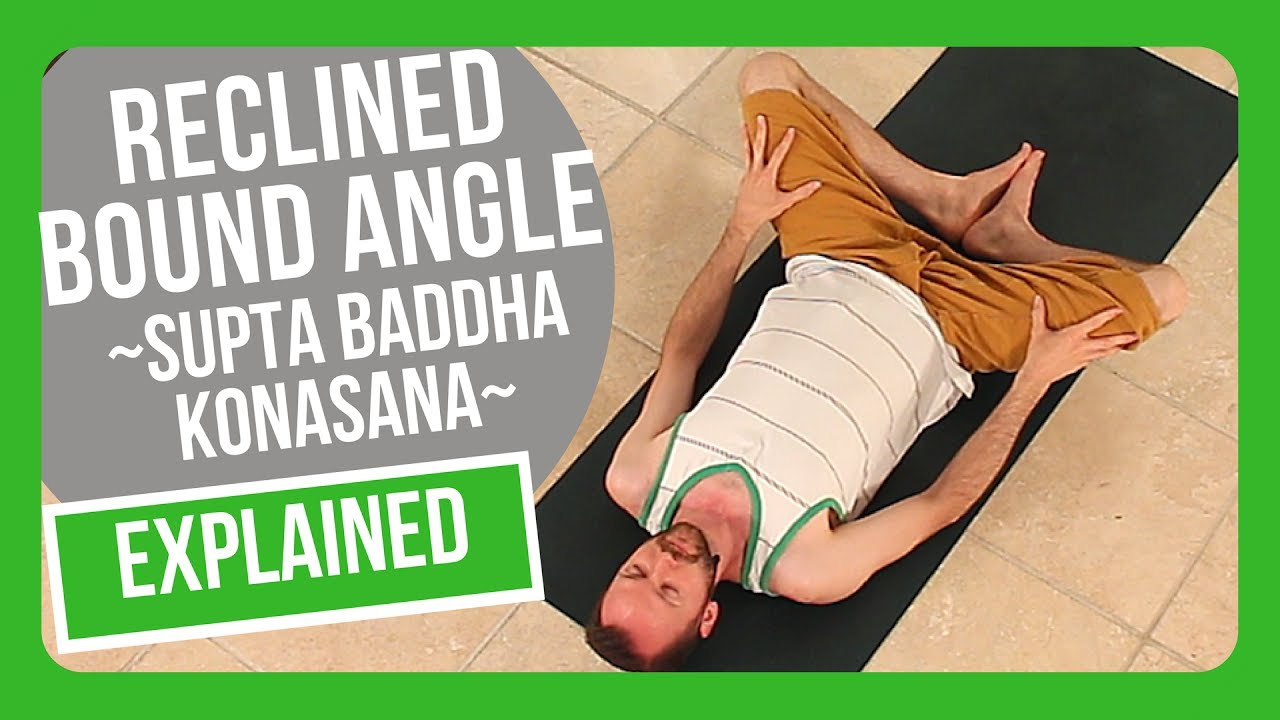 How to do Reclined Bound Angle (supta baddha konasana)  sc 1 st  YouTube & How to do Reclined Bound Angle (supta baddha konasana) - YouTube islam-shia.org