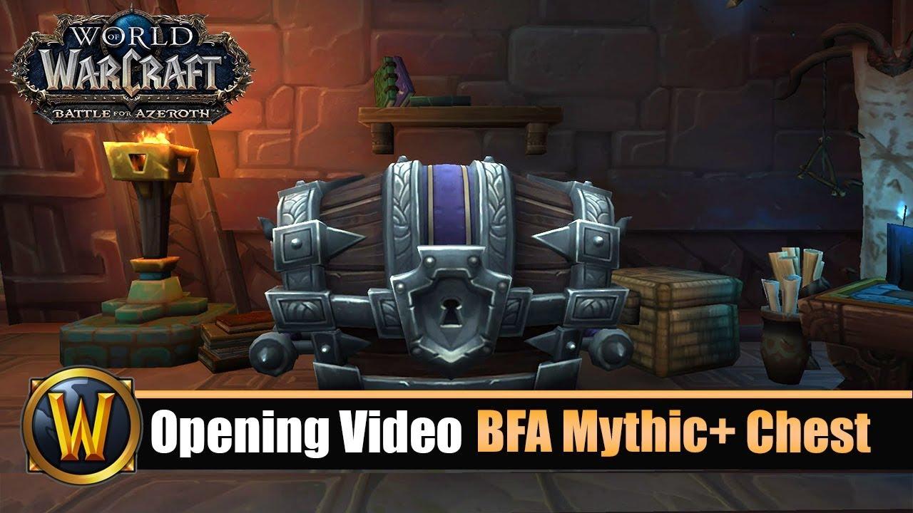 Opening Video: BFA Mythic+ Chest - Horde & Allianz