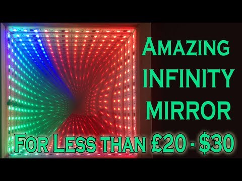 Tutorial - How to Make an Infinity Mirror for less than $30 20