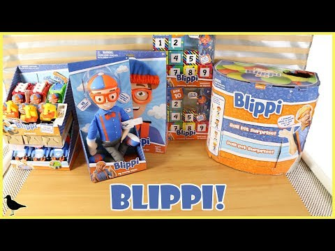 Huge Blippi Toys Opening! Ball Pit Surprise Vehicles Dress Up Doll + More!   Birdew Reviews