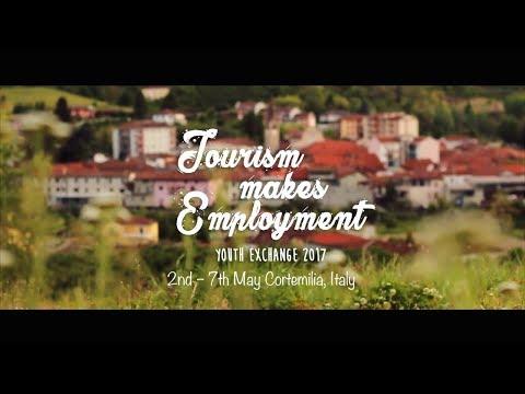 Tourism Makes Employment - uno scambio internazionale (Sub  Italiano)
