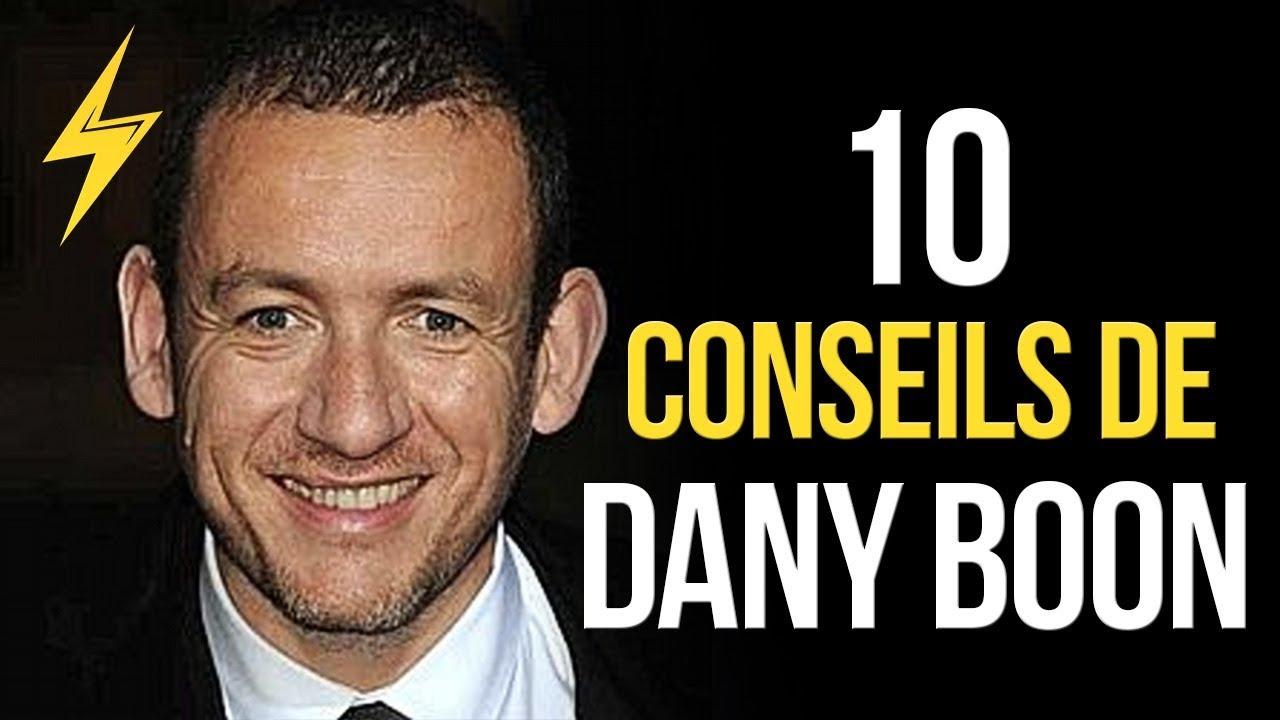 Dany Boon - 10 conseils pour réussir (Motivation)