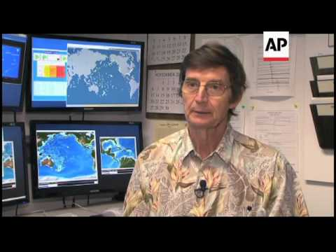 US Pacific warning centre predicts further tsunamis